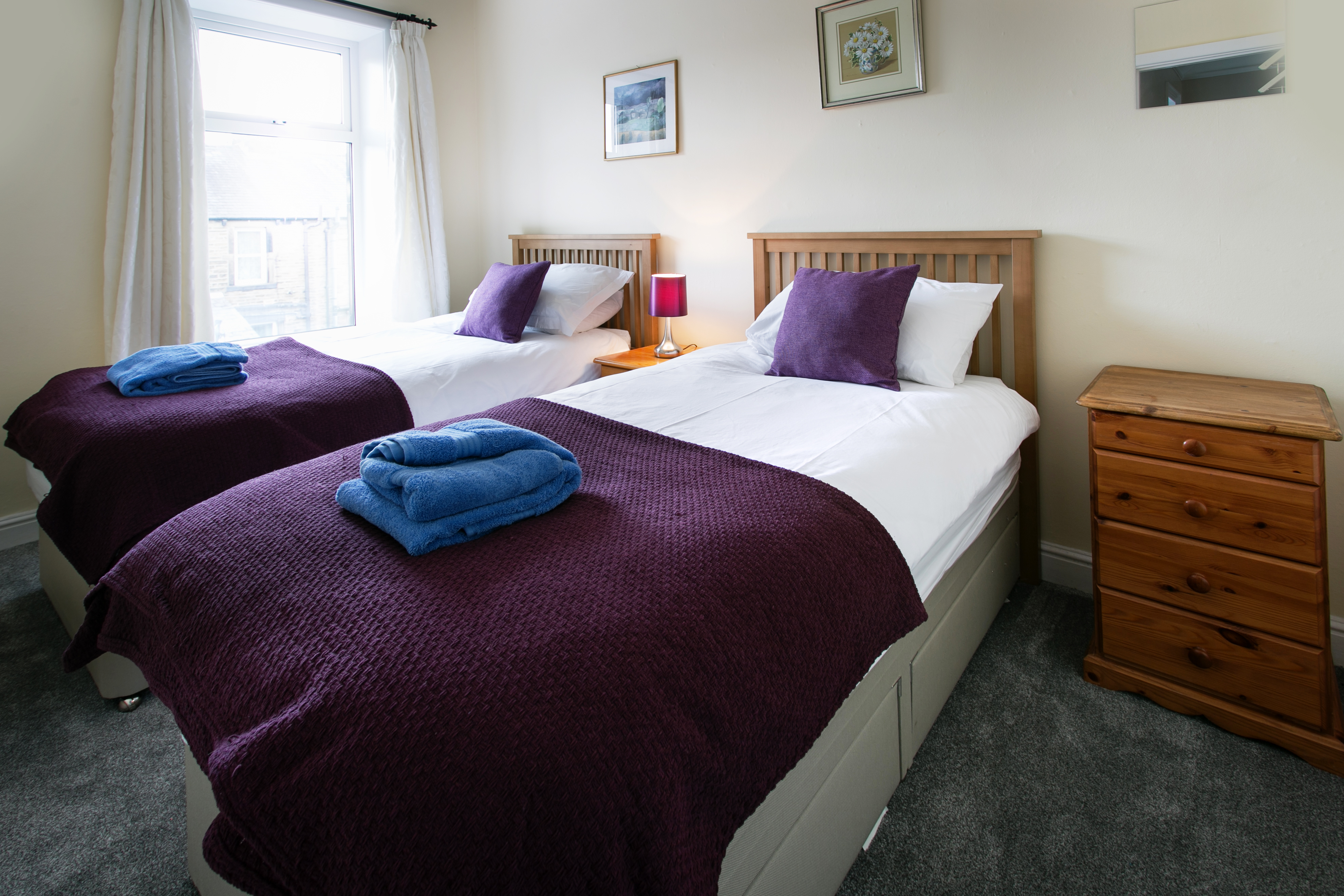 Holiday Cottage SkiptonTwin Bedroom