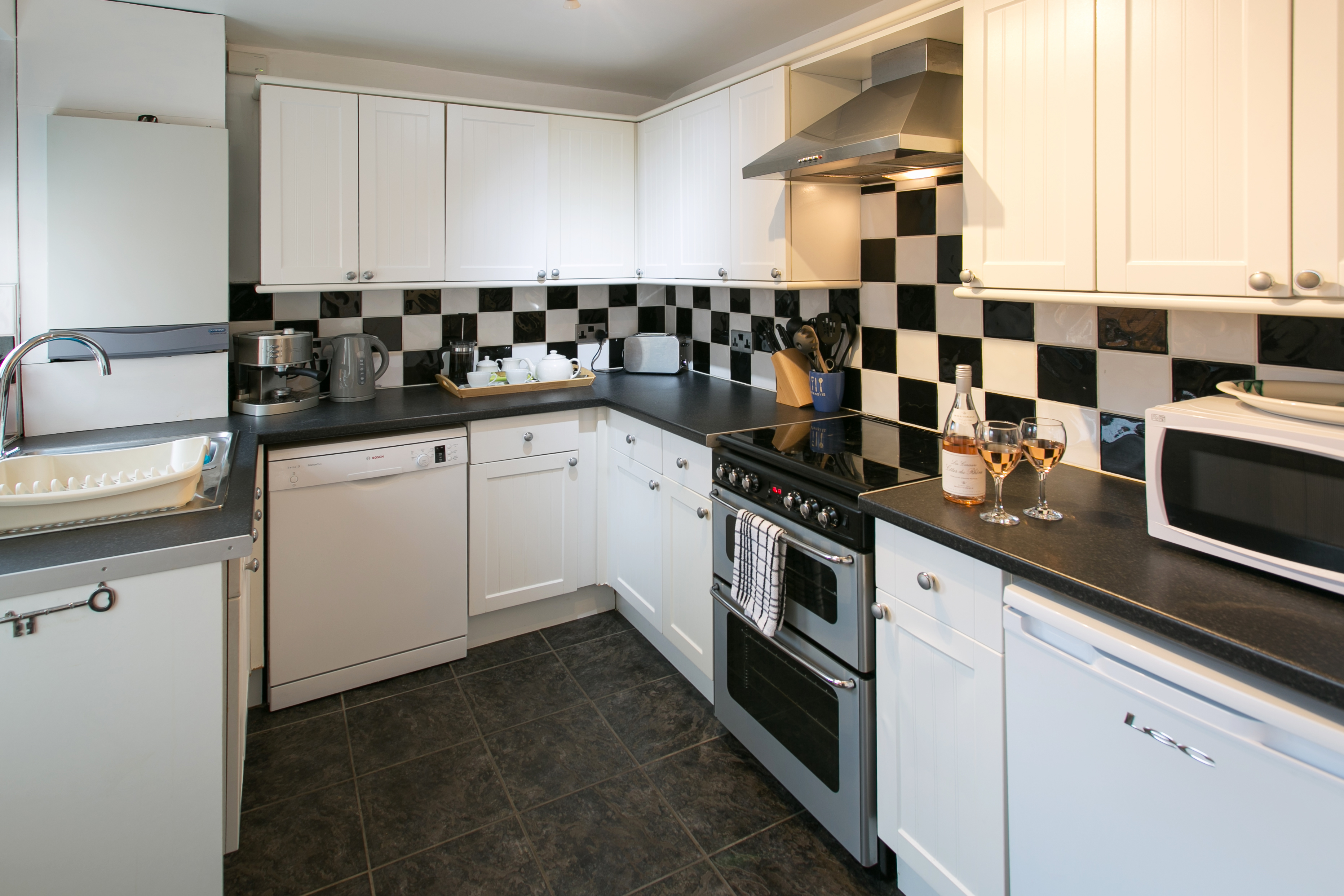 Holiday Cottage SkiptonKitchen
